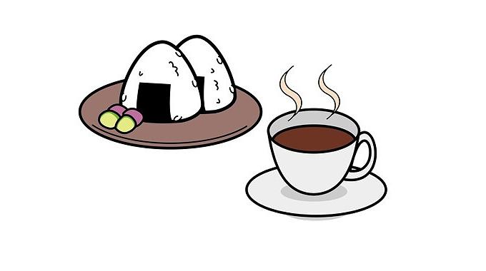 「おにぎり コーヒー」の画像検索結果